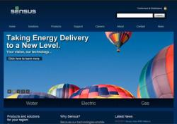 Sensus USA Web Site