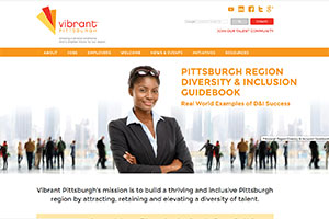 Vibrant Pittsburgh Web Site